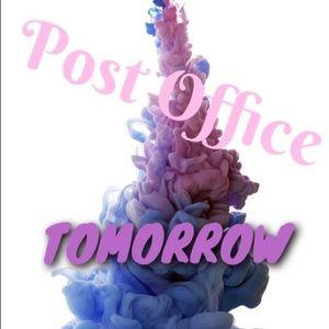 Post office run tomorrow!